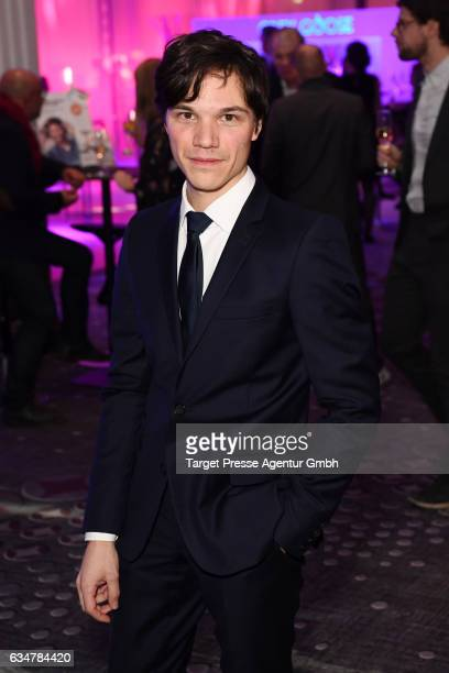 Sebastian Urzendowsky attends the Medienboard BerlinBrandenburg Reception during the 67th Berlinale International Film Festival Berlin at on February...
