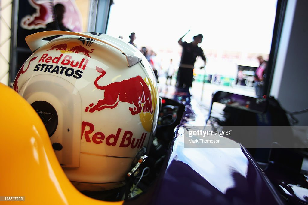 <a gi-track='captionPersonalityLinkClicked' href=/galleries/search?phrase=Sebastian+Vettel&family=editorial&specificpeople=2233605 ng-click='$event.stopPropagation()'>Sebastian Vettel</a> of Germany and Infiniti Red Bull Racing prepares to drive during practice for the Australian Formula One Grand Prix at the Albert Park Circuit on March 15, 2013 in Melbourne, Australia.