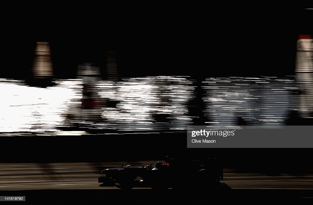 Sebastian Vettel of Germany and Red Bull Racing drives during the Australian Formula One Grand Prix at the Albert Park circuit on March 18, 2012 in Melbourne, Australia.