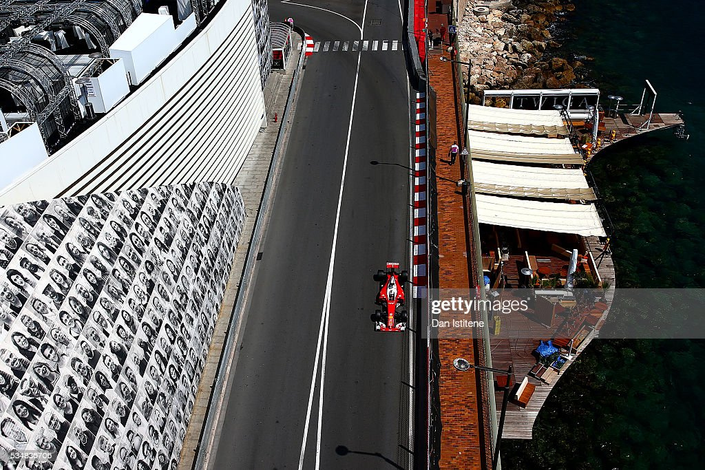 <a gi-track='captionPersonalityLinkClicked' href=/galleries/search?phrase=Sebastian+Vettel&family=editorial&specificpeople=2233605 ng-click='$event.stopPropagation()'>Sebastian Vettel</a> of Germany driving the (5) Scuderia Ferrari SF16-H Ferrari 059/5 turbo (Shell GP) on track during final practice ahead of the Monaco Formula One Grand Prix at Circuit de Monaco on May 28, 2016 in Monte-Carlo, Monaco.