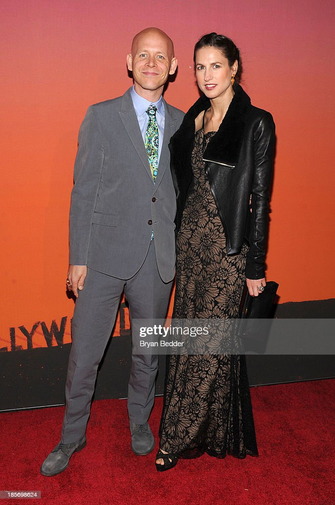 Sebastian Wolk and Anastasia Wolk arrive for the Whitney Museum of American Art Gala & Studio Party 2013 Supported By Louis Vuitton at Skylight at Moynihan Station on October 23, 2013 in New York City.