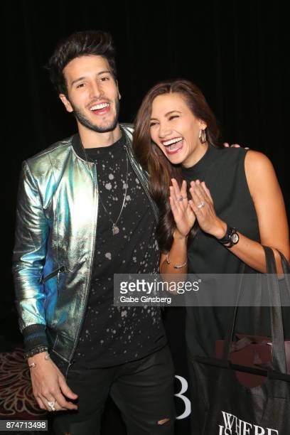 Sebastian Yatra attends the gift lounge during the 18th annual Latin Grammy Awards at MGM Grand Garden Arena on November 15 2017 in Las Vegas Nevada