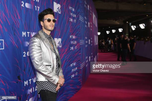 Sebastian Yatra attends the MTV MIAW Awards 2017 at Palacio de Los Deportes on June 3 2017 in Mexico City Mexico