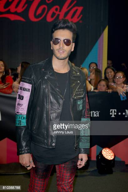 Sebastian Yatra attends the Univision's 'Premios Juventud' 2017 Celebrates The Hottest Musical Artists And Young Latinos ChangeMakers at Watsco...