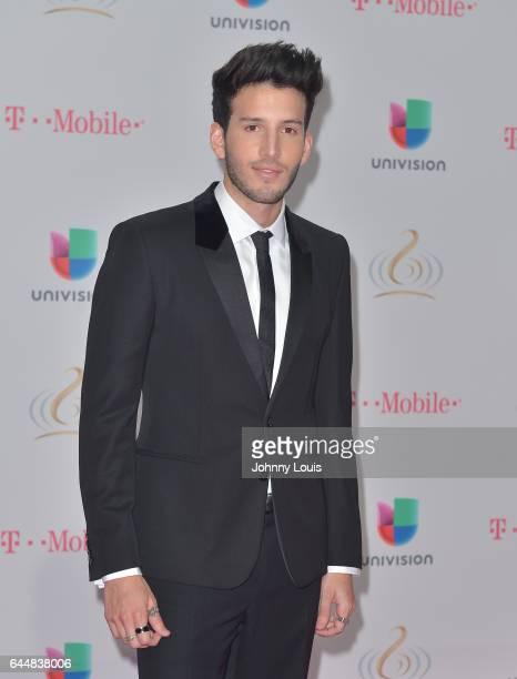 Sebastian Yatra attends Univision's 29th Edition of Premio Lo Nuestro A La Musica Latina at the American Airlines Arena on February 23 2017 in Miami...
