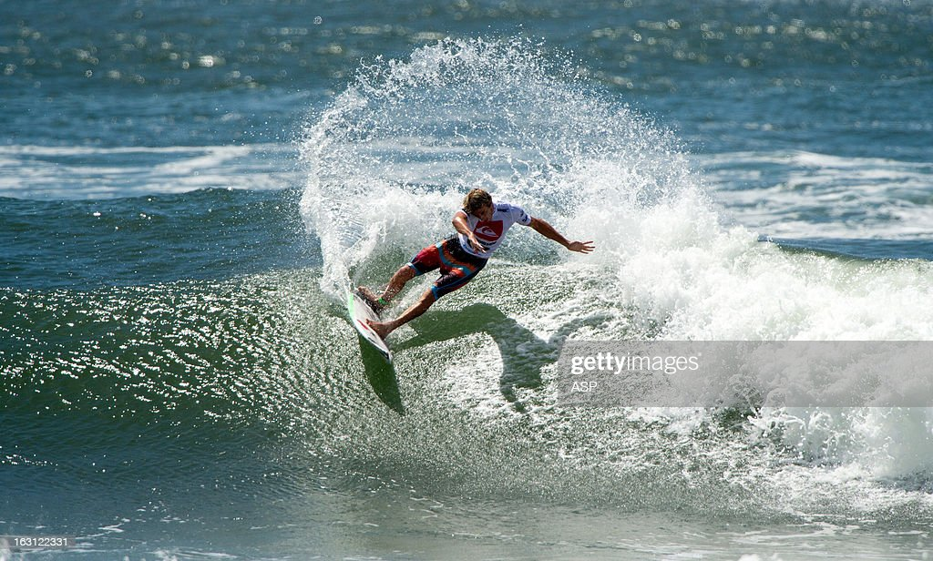Sebastian Zietz of Hawaii in action during the Quiksilver Pro Gold Coast 2013 on March 5, 2013 in Gold Coast, Australia.