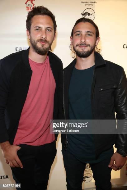 Sebastian Zurita and Emiliano Zurita attends the La Carmencita Celebrates Its Grand Opening on June 29 2017 in Los Angeles California