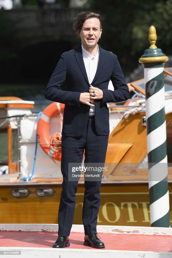 Sebastiano Riso is seen during the 74th Venice Film Festival on September 3, 2017 in Venice, Italy.
