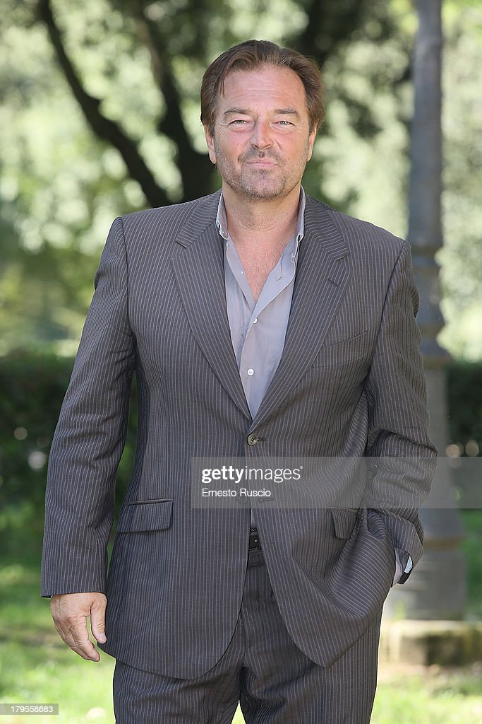 Sebastiano Somma attends the 'Un Caso Di Coscienza 5' photocall at Casa del Cinema on September 5, 2013 in Rome, Italy.