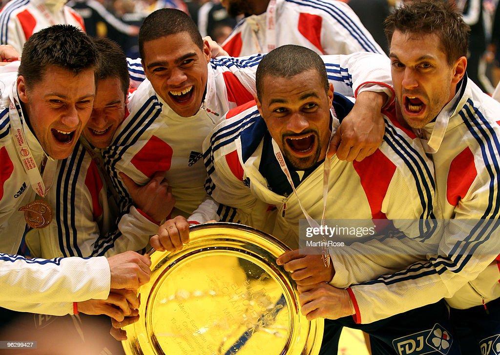 France v Croatia - Men's European Handball Championship 2010
