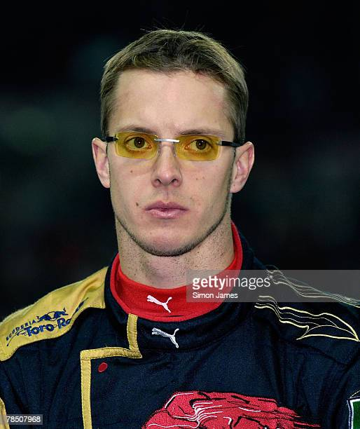 Sebastien Bourdais during a tribute to the late rally driver Colin McRae at The Race of Champions at Wembley Stadium on December 16 2007 in London...