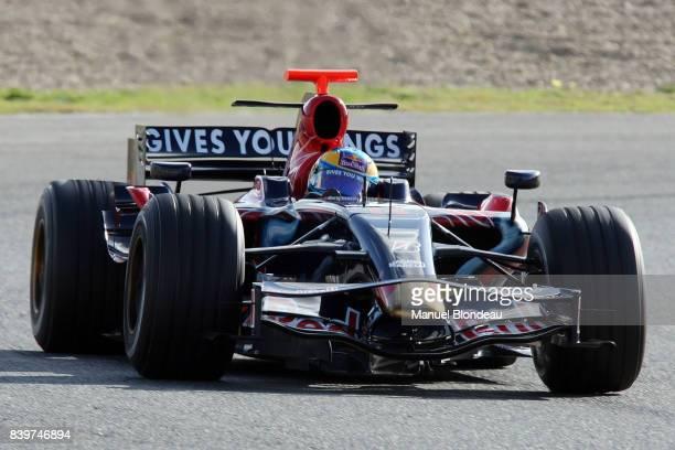 Sebastien BOURDAIS Toro Rosso Essai F1 Essai de pre saison Circuit de Jerez