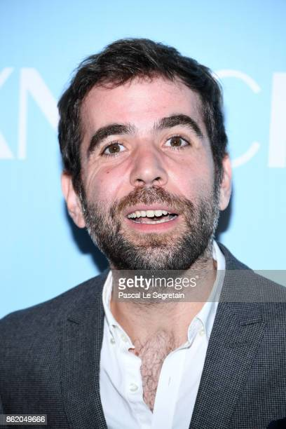 Sebastien Castro attends 'Knock' Premiere at Cinema UGC Normandie on October 16 2017 in Paris France