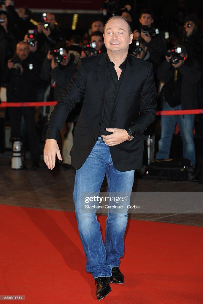 Sebastien Cauet attends the NRJ Music Awards 2011 at the 'Palais des Festivals et des Congres' in Cannes.