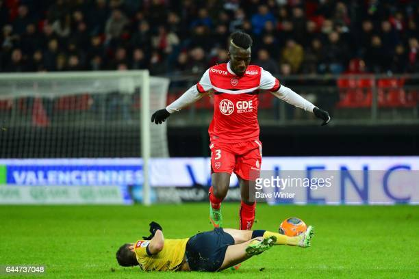 Sebastien CORCHIA / Arthur MASUAKU Valenciennes / Sochaux 26eme journee de Ligue 1 Photo Dave Winter / Icon Sport