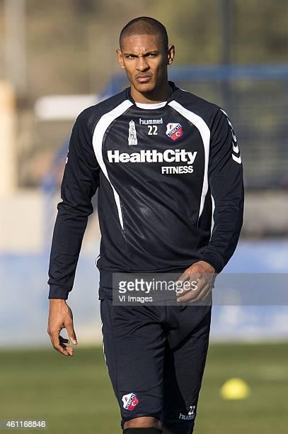 Sebastien Haller of FC Utrecht during the training camp of FC Utrecht on January 8 2015 at Benidorm Spain