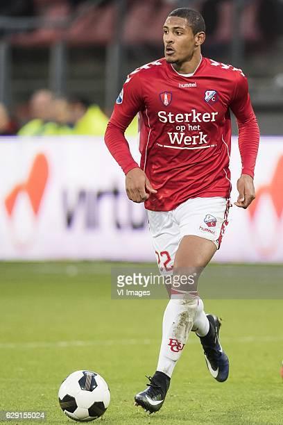 Sebastien Haller of FC Utrechtduring the Dutch Eredivisie match between FC Utrecht and Heracles Almelo at the Galgenwaard Stadium on December 11 2016...