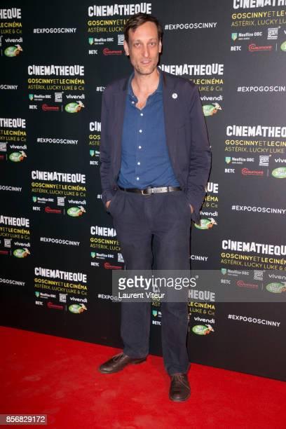 Sebastien Laudenbach attends 'Goscinny et le Cinema Asterix Luky luke et Cie' Exhibition at Cinematheque Francaise on October 2 2017 in Paris France