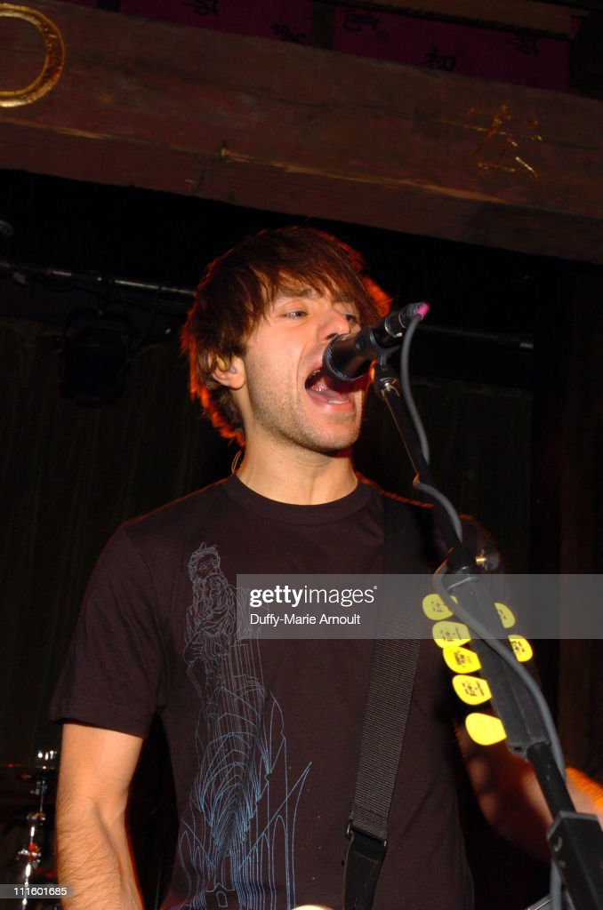 Sebastien Lefebvre during Simple Plan Album Release Party for 'Still Not Getting Any' October 27 2004 at Hiro Ballroom in New York City New York...