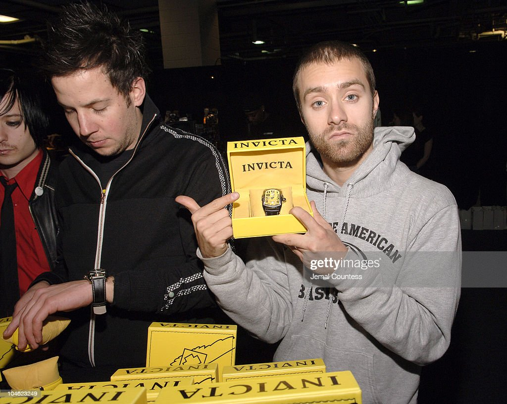 Sebastien Lefebvre of Simple Plan during Z100's Zootopia 2005 On 3 Productions Gift Lounge at Continental Airlines Arena in East Rutherford New...