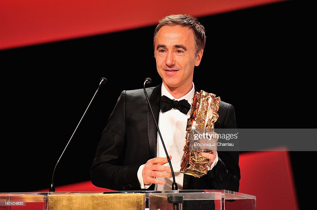 Sebastien Lifshitz receives the Best Documentary Feature Cesar for 'Les invisibles' during the 37th Cesar Film Awards Cesar Film Awards 2013 at Theatre du Chatelet on February 22, 2013 in Paris, France.