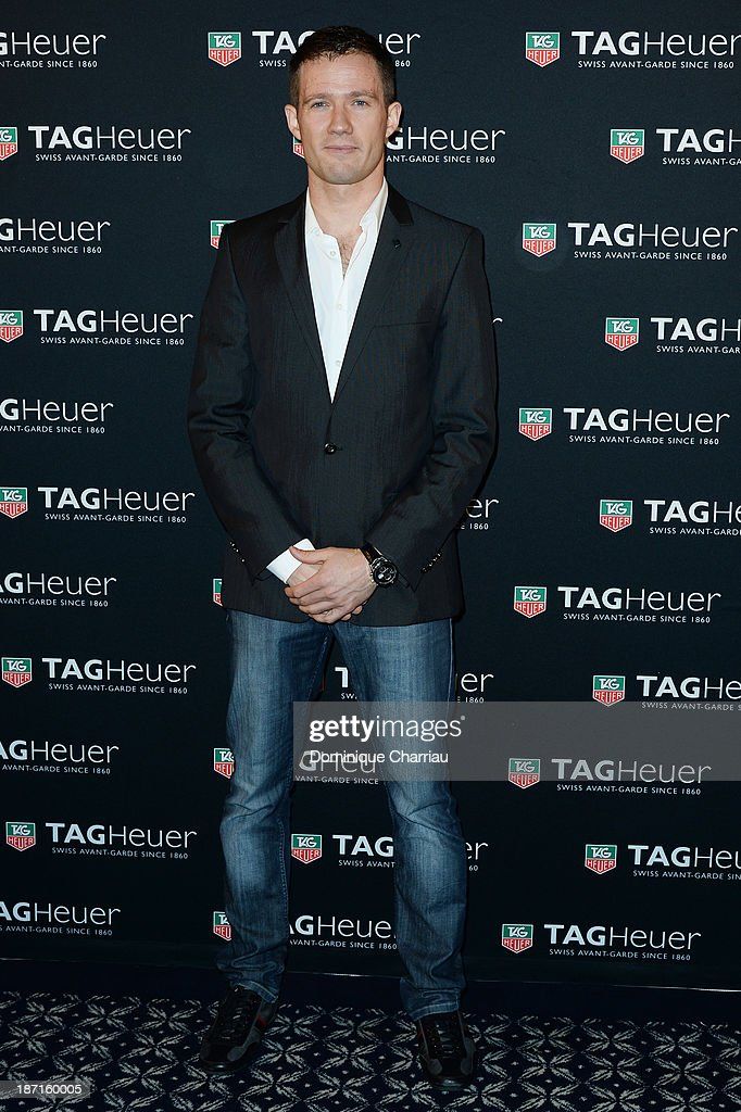 Sebastien Ogier attends the Opening of the TAG Heuer New Boutique, Followed By An Evening Celebrating 50 years of Carerra In Pavillon Vendome on November 6, 2013 in Paris, France.