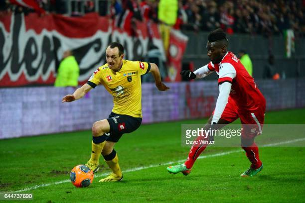 Sebastien ROUDET / Arthur MASUAKU Valenciennes / Sochaux 26eme journee de Ligue 1 Photo Dave Winter / Icon Sport