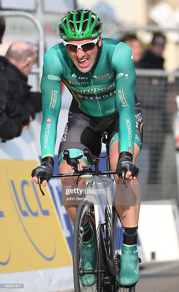 Sebastien Turgot of France and Team Europcar rides during the prologue of 2.9 km of the 2013 Paris-Nice on March 3, 2013 in Houilles, Yvelines, France.