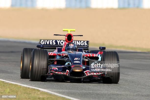 Sebastien VETTEL Toro Rosso Essai F1 Essai de pre saison Circuit de Jerez