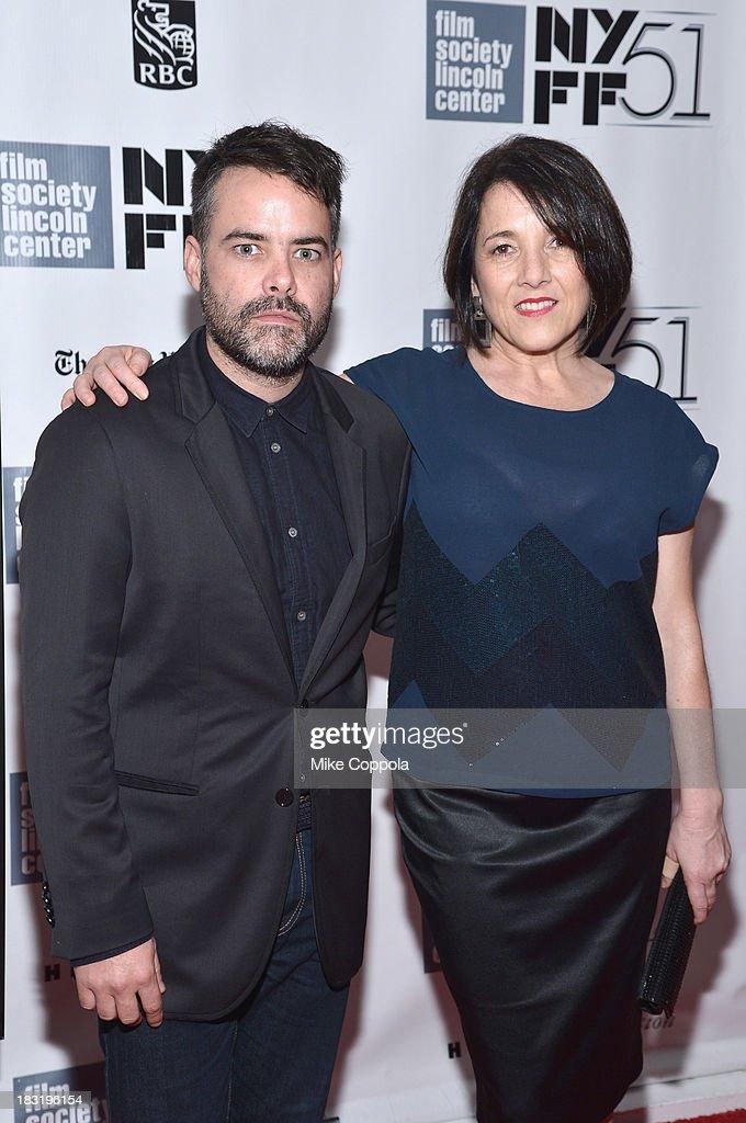Sebastián Lelio and Paulina García attend the Centerpiece Gala Presentation Of 'The Secret Life Of Walter Mitty' during the 51st New York Film...