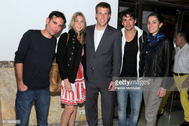 Sebastion Ballejo Ashley Velinskie Jack Palmert Matias Cuevas and Anna Marie Gonzalez attend EARL DAX and PATRICK DUFFY Party With Performance by...