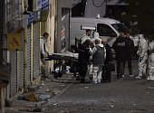 A second body is removed from the apartment raided by French Police special forces earlier in the northern Paris suburb of SaintDenis on November 18...