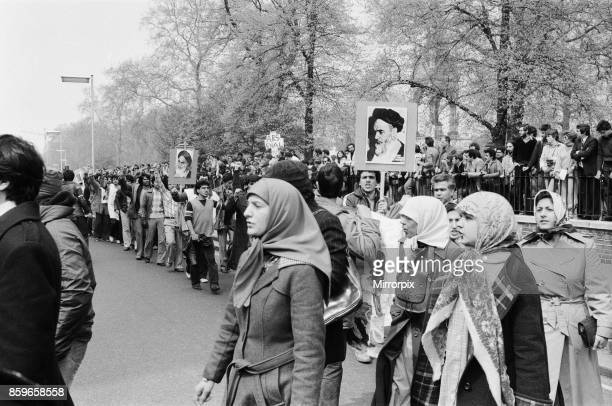 Second day of the Iranian Embassy Siege in London where six gunmen of the Iranian extremist group 'Democratic Revolutionary Movement for the...