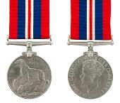 1939-1945 Second World War Medal General Service Medal with the inscription GEORGIVS VI D G BR OMN REX ET INDIAE IMP