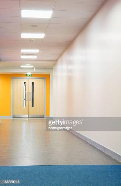 Secondary school corridor