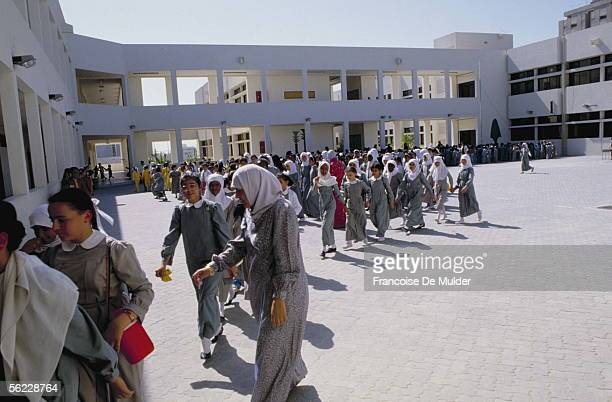 Secondary school students United Arab Emirates in October 1987 FDM180216