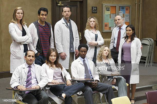 HOUSE '97 Seconds' Episode 3 Pictured Anne Dudek as Dr Amber Volakis Kal Penn as Dr Lawrence Kutner Andy Comeau as Dr Travis Brennan Melinda or...