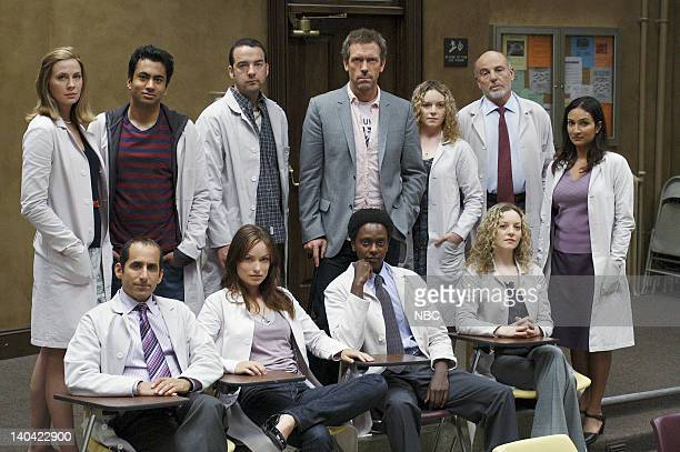 HOUSE '97 Seconds' Episode 3 Pictured Anne Dudek as Dr Amber Volakis Kal Penn as Dr Lawrence Kutner Andy Comeau as Dr Travis Brennan Hugh Laurie as...
