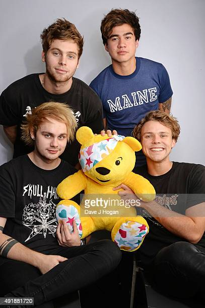Seconds of Summer supports BBC Children in Need at One Big Night at SSE Arena Wembley on October 8 2015 in London England