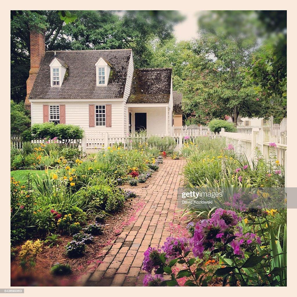 Secret Garden Colonial Williamsburg Virginia