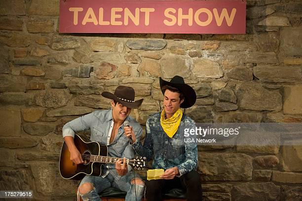 CAMP 'Secret Pact' Episode 106 Pictured Contestants Cameron Tylor Harper Kyle Kleiboeker