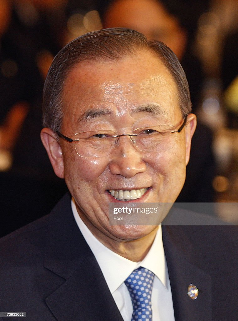 U.N. Secretary General <a gi-track='captionPersonalityLinkClicked' href=/galleries/search?phrase=Ban+Ki-Moon&family=editorial&specificpeople=206144 ng-click='$event.stopPropagation()'>Ban Ki-Moon</a> attends the U.N. Global Compact to hold summit at the Conrad Hotel on May 19, 2015 in Seoul, South Korea. The U.N. Secretary General <a gi-track='captionPersonalityLinkClicked' href=/galleries/search?phrase=Ban+Ki-Moon&family=editorial&specificpeople=206144 ng-click='$event.stopPropagation()'>Ban Ki-Moon</a> is on a five day trip to his home country South Korea.