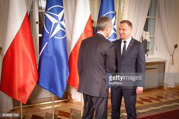 NATO secretary general Jens Stoltenberg is to visit the alliances Enhanced Forward Presence force in Poland on Friday Ahead of his visit Polish...