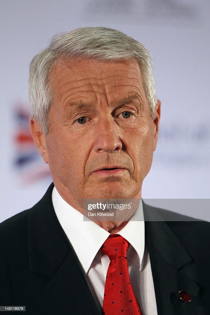 Secretary General of the Council of Europe <a gi-track='captionPersonalityLinkClicked' href=/galleries/search?phrase=Thorbjorn+Jagland&family=editorial&specificpeople=862853 ng-click='$event.stopPropagation()'>Thorbjorn Jagland</a> speaks during a press conference after the first day of the Ministerial Conference on the Future of the European Court of Human Rights on April 19, 2012 in Brighton, England. Ministers and officials from the 47 member States of the Council of Europe are meeting at the conference in Brighton with the aim to reach an agreement on a package of reforms for the future of European Court of Human Rights over the next two days.