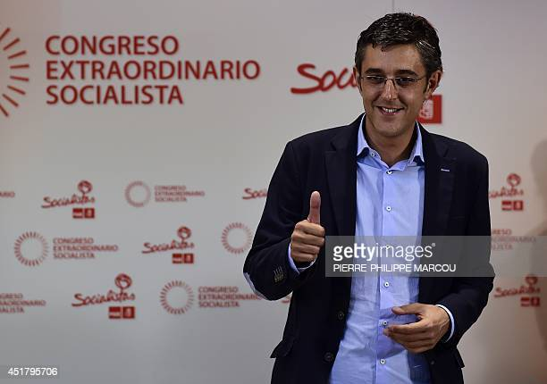 Secretary General of the Socialist Parliamentary Group Eduardo Madina one of the candidates to become the new Secretary General of the Spanish...