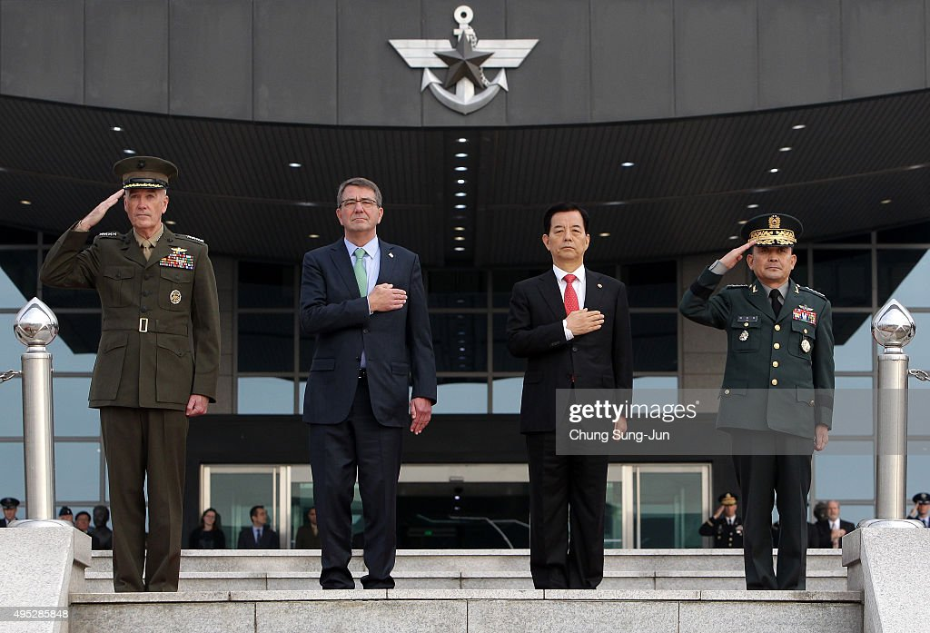 U.S. Secretary of Defense Visits Seoul