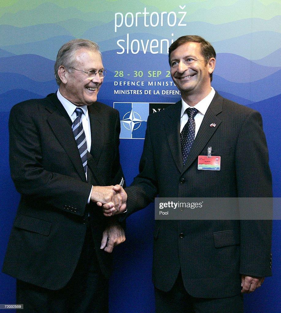 NATO Defense Ministers Meet In Slovenia
