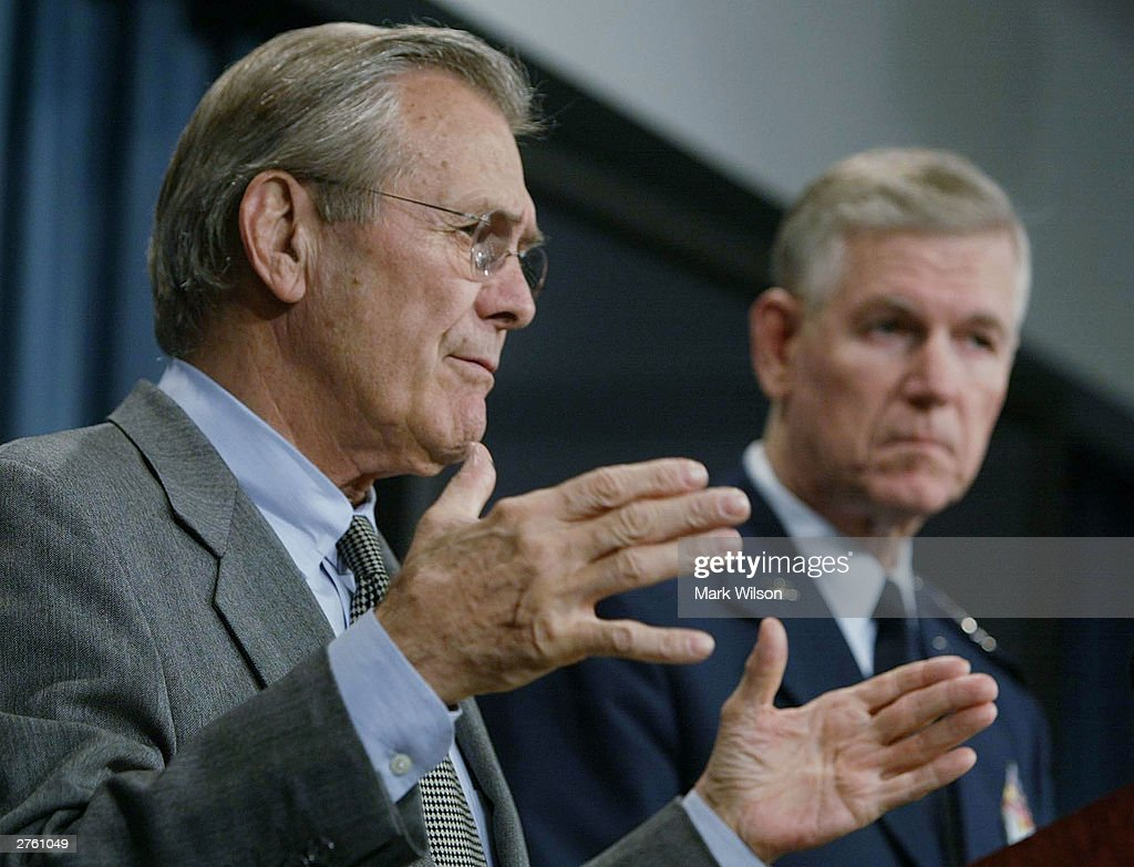 an analysis of donald rumsfeld as secretary of defense Former defense secretary donald rumsfeld tells 'on the record' why he is supporting trump in the november presidential election and what he thinks of his pla.