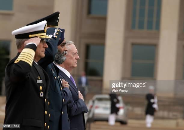 US Secretary of Defense James Mattis Canadian Minister of National Defence Harjit Sajjan Mexican Secretary of National Defense Gen Salvador...