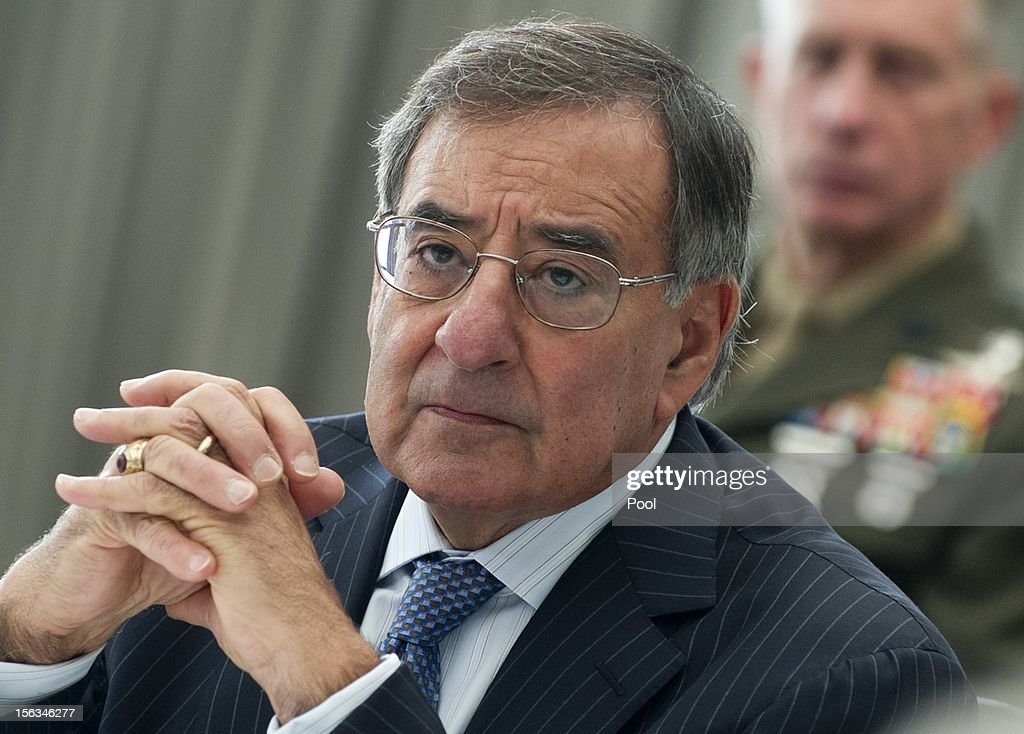 U.S. Secretary of Defense Leon Panetta attends AUSMIN meetings with his Australian counterparts at the State Reception Centre in Kings Park on November 14, 2012 in Perth, Australia. The bilateral AUSMIN forum will focus on foreign, defence and strategic policy and will be held in Perth today.